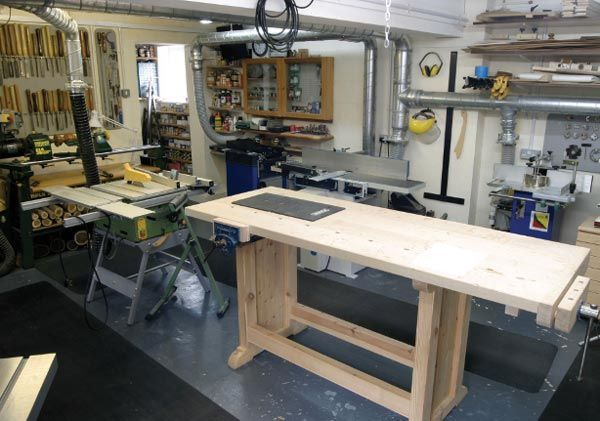 74 best images about workshop layout on pinterest shops for One car garage woodshop