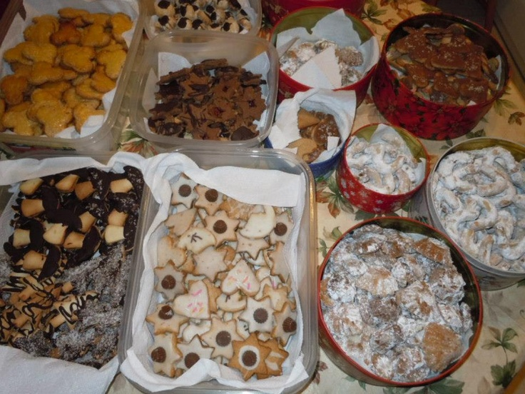 In my kitchen - Christmas 2012  and help your self...lol
