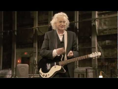 "KASHMIR chords -Jimmy Page (Led Zep), Jack White (White Stripes), Edge (U2).  From ""It Might Get Loud.""  //Jimmy Page Tells the Story of ""Kashmir"" 
