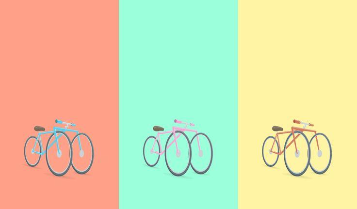 One more three wheeled hipster bike