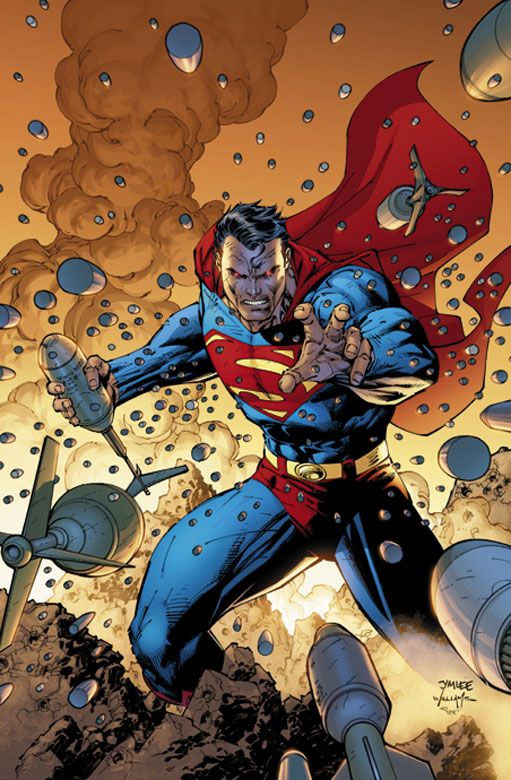 SUPERMAN #205//Jim Lee/L/ Comic Art Community GALLERY OF COMIC ART