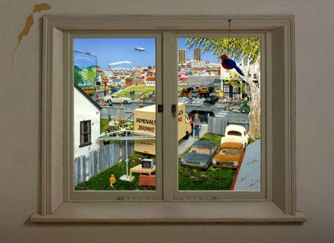 Jeannie Baker Window Suburbia