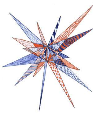 Make a starburst of your own... http://www.ilovethatteachingidea.com/ideas/010915_star_burst_design.htm