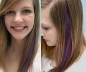 Image result for dye streak in hair
