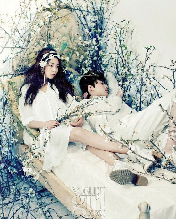 """The Terrier and Lobster: """"Holy Matrimony"""" by Zoo Yong Gyun for Vogue Girl Korea"""