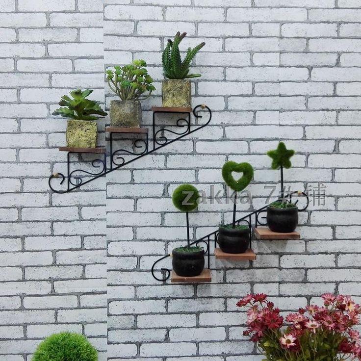 Американский сельской местности творческий стиль лестницы кафе декоративные настенные цветок магазин одежды стойки