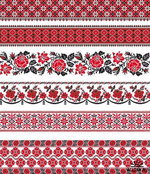 Russian embroidery designs.