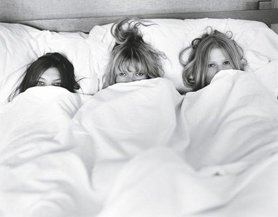 Morning of the wedding picture with your best friends! Love it!                                                                                                                                                     More