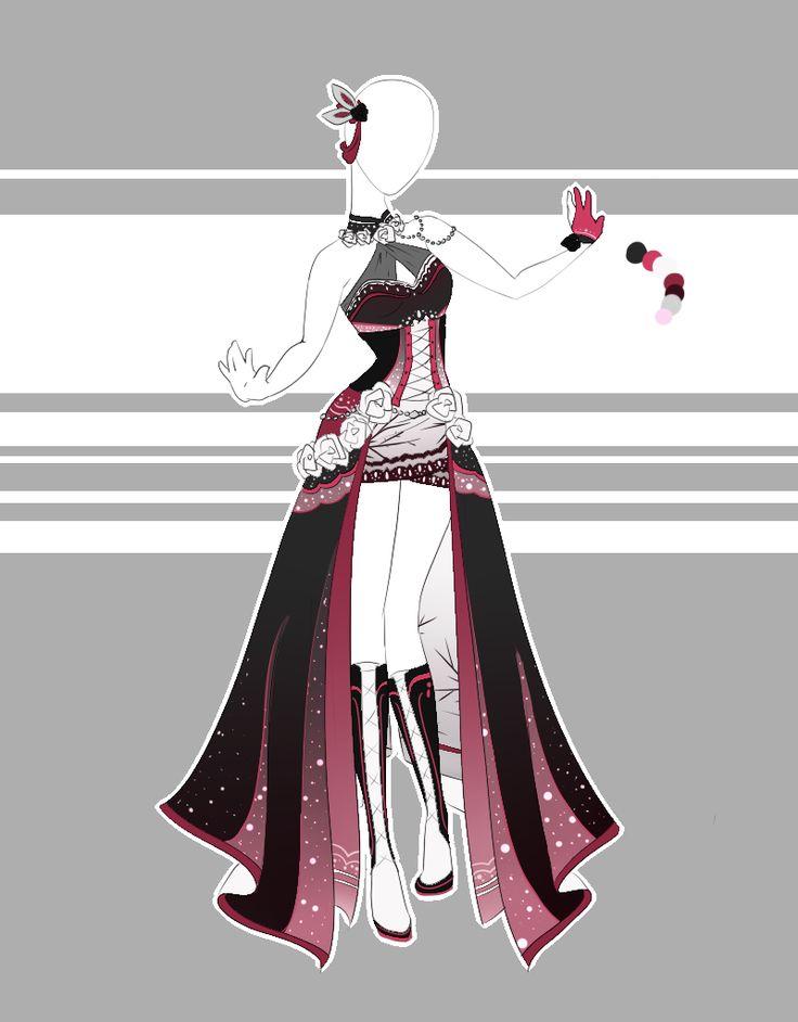 .::Outfit Adoptable 61(OPEN)::. by Scarlett-Knight.deviantart.com on @DeviantArt
