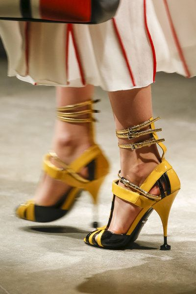 Sandals with Jewelled Heels Spring/summer Prada