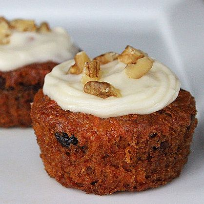 Your Vegan Dessert: Carrot Cake Cupcakes: Carrot cake cravings can't be curbed easily, but a single slice of the store-bought classic weighs in at over 500 calories —not ideal if you're trying to get in shape.