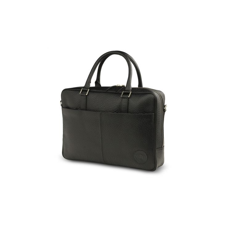 The Rosenborg leather bag, from dbramante1928, also comes in Corona Black. It's got modern lines and classic design & features two rounded leather handles and zip closure, the interior contains multiple storage compartments and is padded to protect your PC or Macbook.