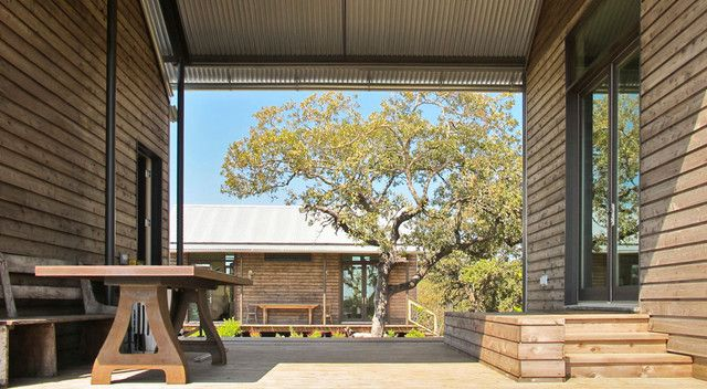 traditional porch by Lake Flato Architects