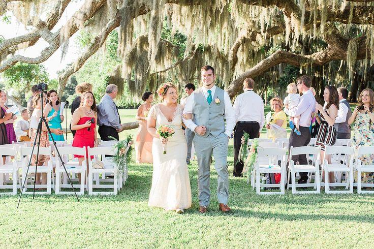 Riverfront Lawn Wedding At Jekyll Island Club