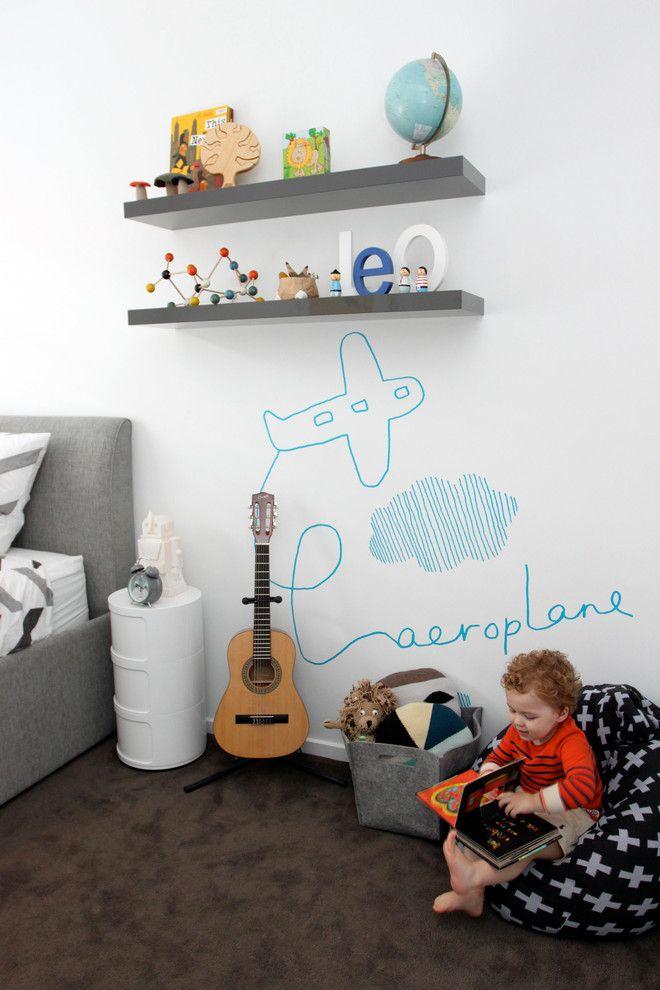 Маркерная краска для стен: необъятный простор для творчества и 65+ лучших вариантов исполнения http://happymodern.ru/markernaya-kraska-dlya-sten-foto/ Стена с маркерной поверхностью поможет развить художественные таланты вашего ребенка