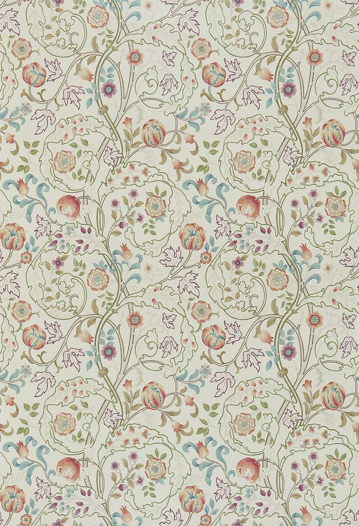 Mary Isobel Rose / Artichoke wallpaper by Morris
