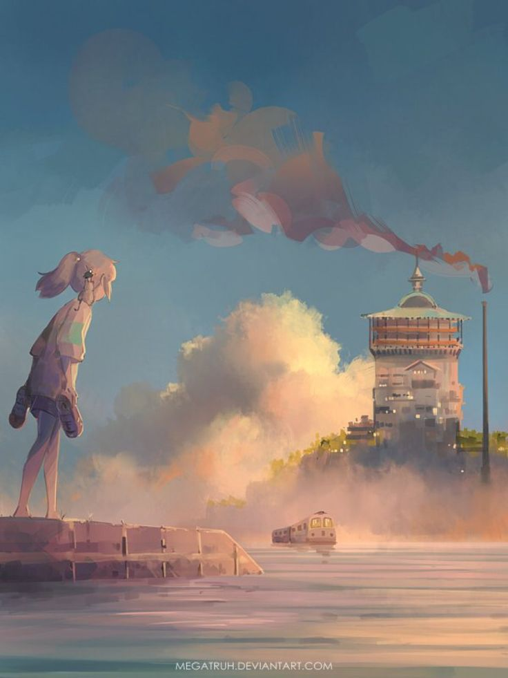 Spirited away art