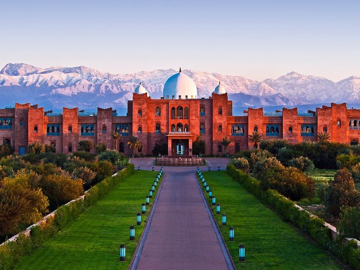 Marrakech Morocco | Taj Palace, Marrakech, Morocco : Condé Nast Traveler,,,, Lofty mountains arise behind to deepen this sense of Majesty,terrific indeed