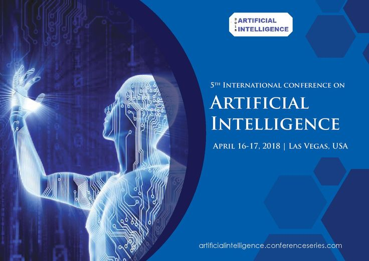 5th International conference on Artificial Intelligence April 16-17, 2018 Las Vegas, Nevada, USA.  URL: https://artificialintelligence.conferenceseries.com  Theme: #Surging into the #future of #Artificial #Intelligence  Email Us: artificial@conferencesamerica.org