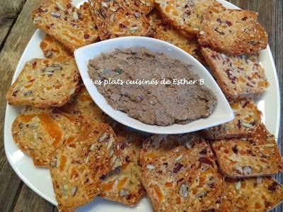 Les plats cuisinés de Esther B: Pâté de foies de volaille aux champignons