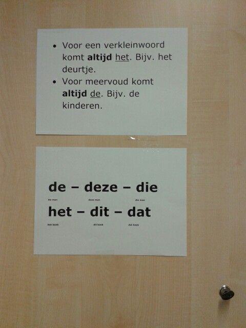 Deze regels in onze taal zijn voor kinderen die Nederlands als tweede taal spreken erg handig #weten!!