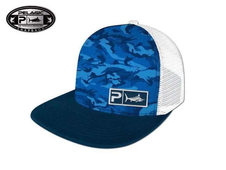 Pelagic Fish Camo Cap
