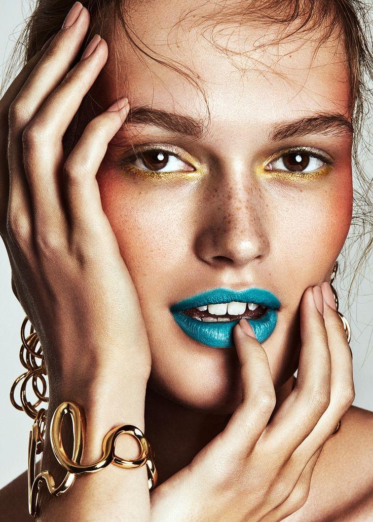 Vogue Mexico June 2018 Dasha Maletina by Mikael Schulz