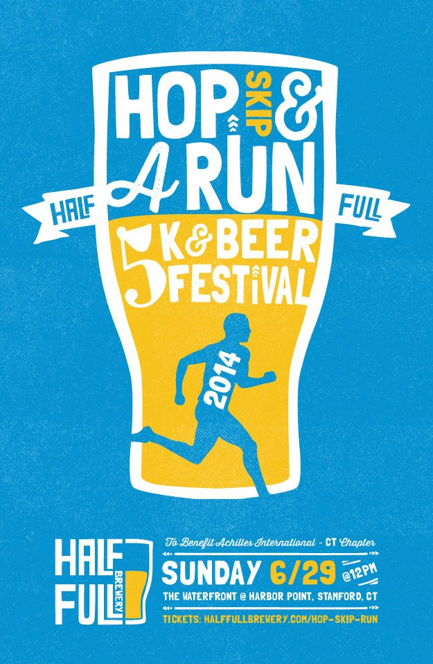 The inaugural Half Full Brewery Hop Skip & A Run // Patti Murphy Designs