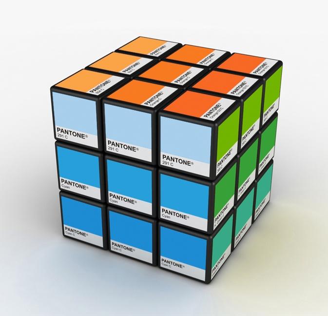 Rubix Pantone