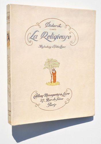 La Religieuse, ill Victor Lhuer, Paris, Editions Arc-en-Ciel, 1943.