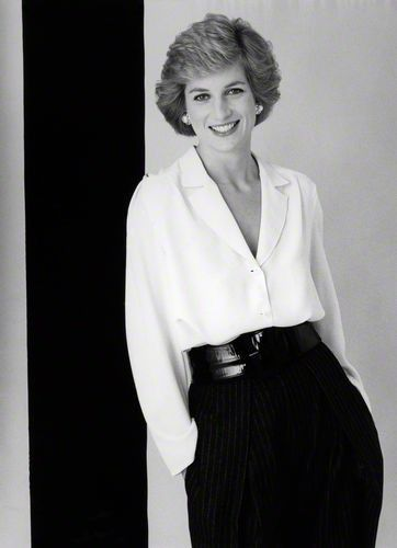 Princess Diana   [1988 by David Bailey].