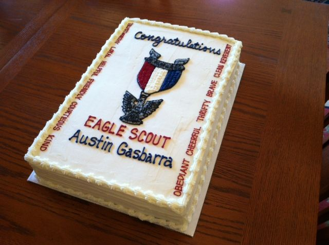 Eagle Scout Sheet Cake | Theresa's Sweet Expressions ...