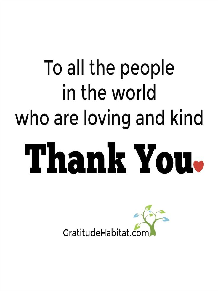 What the world needs now...loving and kind people.  Thank You.  Visit us at: www.GratitudeHabitat.com