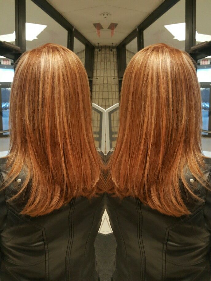 Strawberry Blonde With Highlights Styles By Lisa