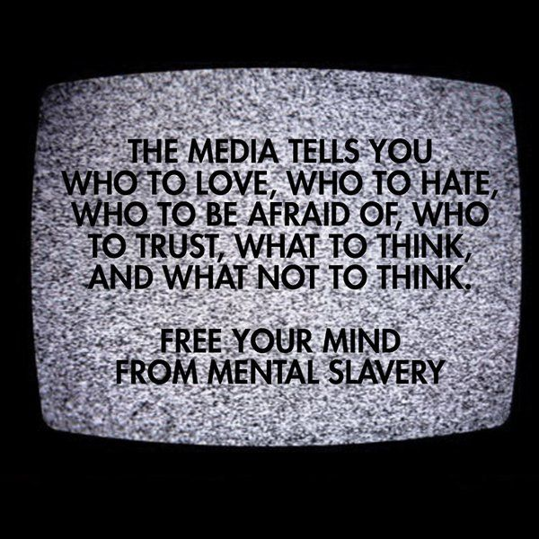Free yourself from mainstream democrat media (CNN, MSNBC, CNBC, NBC, CBS, ABC). And also free yourself from being controlled by democrats.