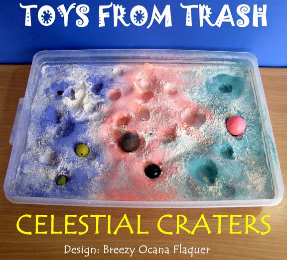 toys from trash fun sensory table idea for little ones and cool science experiment for