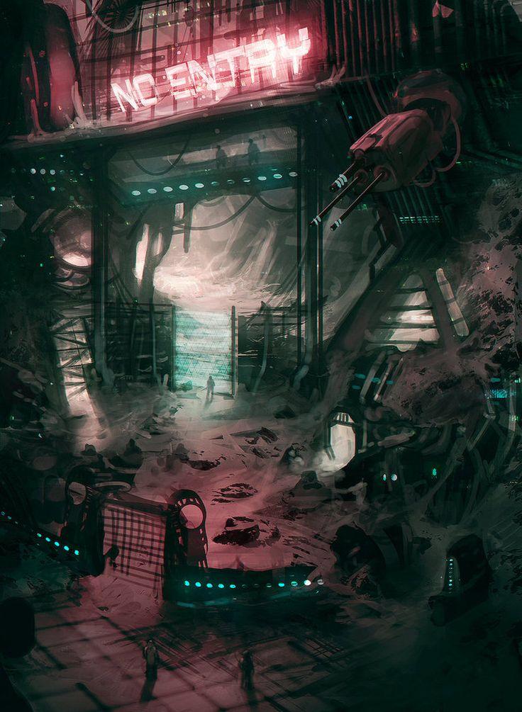 Neon Compound by jordangrimmer on deviantART | CG computer ...