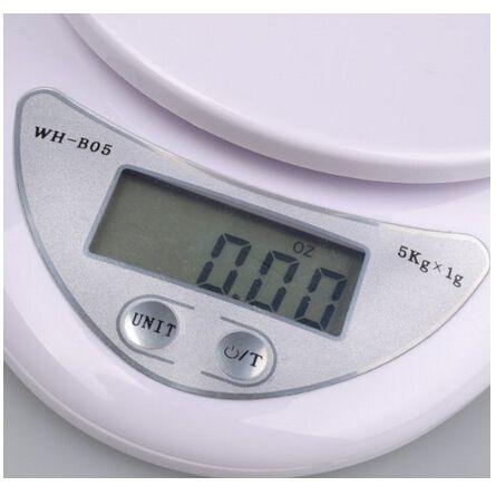 5kg /1g Digital Kitchen Food Scale Diet Scale Postal Scale
