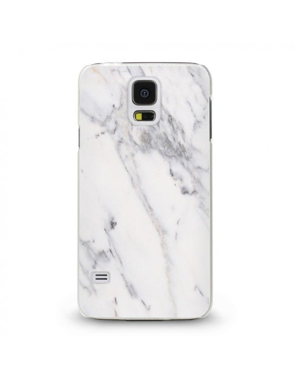Handyhülle Für Samsung Galaxy S5 Mini ( Marmor weiß ) - hochwertige Schutzhülle im modernen Design.