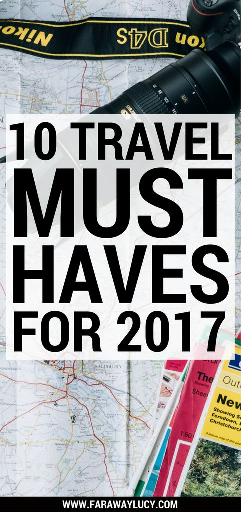 My Top 10 Travel Must-Haves for 2017 which will make travelling just that lil' bit easier and a lil' less stressful. Click through to read more...