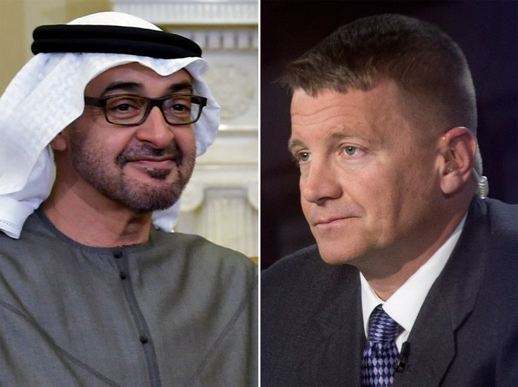 Erik Prince met with a Russian close to the Kremlin in a meeting brokered by the United Arab Emirates.