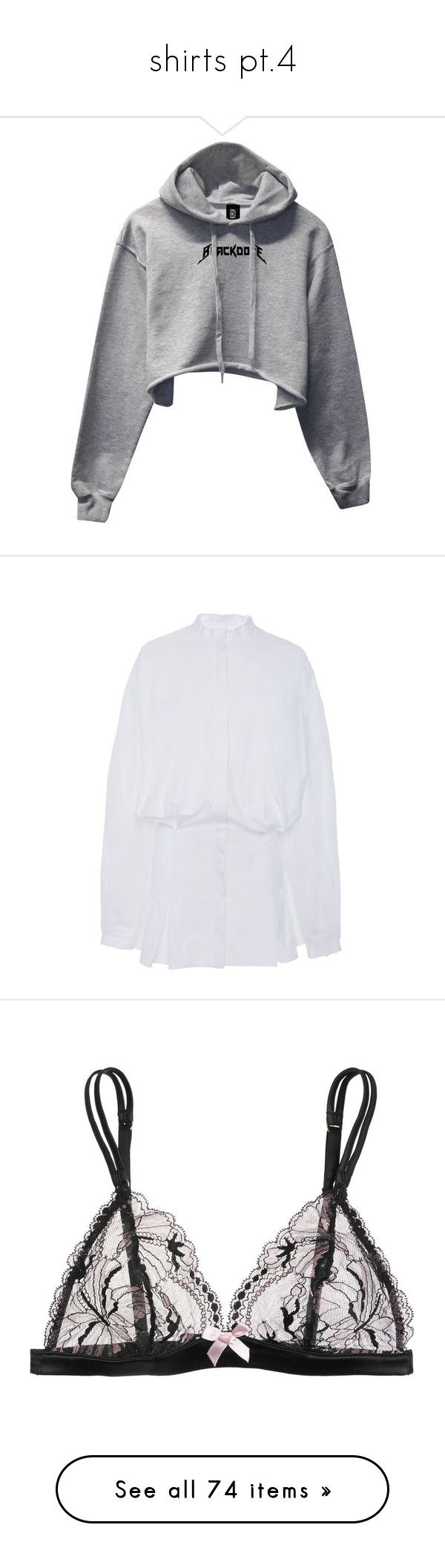 """shirts pt.4"" by blackangels-official ❤ liked on Polyvore featuring outerwear, sweatshirts, tops, ellery, white, puffed sleeve top, puffed sleeve shirt, puffy sleeve shirt, puff shoulder shirt and puff shoulder top"