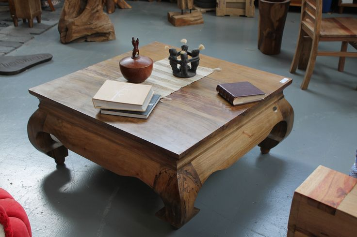 Large Kretek Coffee Table Made From Salvaged Wood Found In Indonesia Tables Desks Consoles
