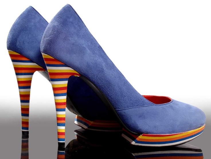 Trishuli Creations-BLUE STRIPED available on www.luxurionworld.com