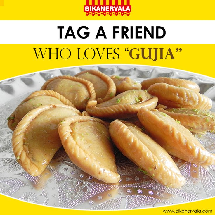 Tag a friend who loves Gujjia The festival of Holi is incomplete with the appetizing taste of Gujjia. Tag a friend who has a never-ending craving for Gujjia.
