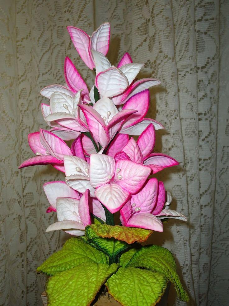 Armario Pequeno Para Banheiro ~ 25+ melhores ideias de Flores Em Eva no Pinterest