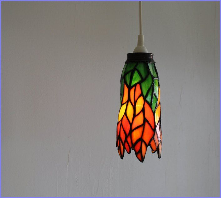 stained glass hanging lamp shades patterns