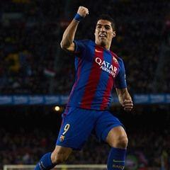 La Liga soccer: FC Barcelona vs Sporting de Gijon