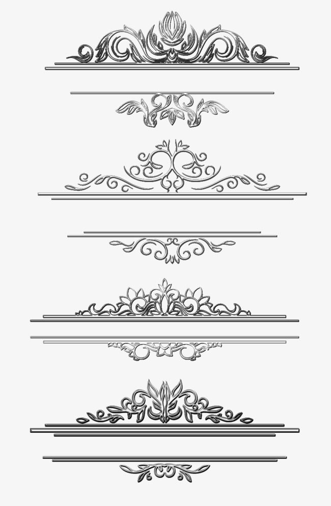 Black Vine Title Box Black Title Box Vine Pattern Png And Psd Page Decoration Free Watercolor Flowers Vintage Typography