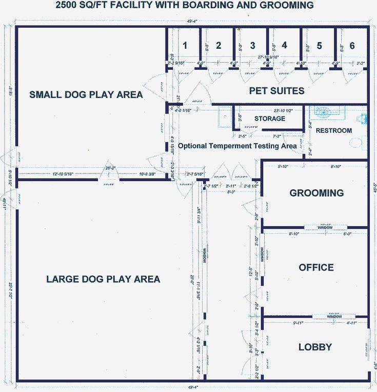 Dog Daycare Design I LOVE FLOOR PLANS Pinterest